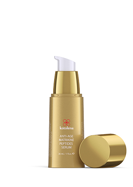 Kotolena Anti-age Matrikine peptides Serum bottle open